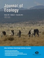 Journal of ecology front cover